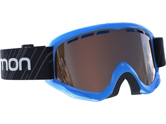 Salomon Junior Juke Access Goggles Blue